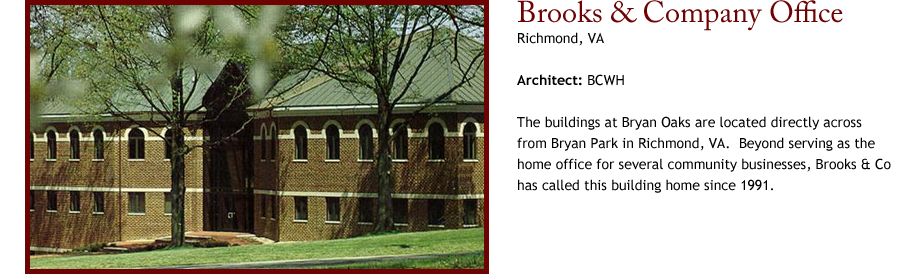Brooks & Company Office